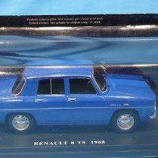 Coches a escala: RENAULT 8 TS 1968 - ESCALA 1: 24 SALVAT. Lote 258859930