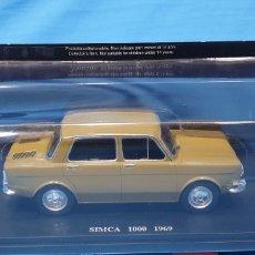 Coches a escala: SIMCA 1000 1969 - ESCALA 1: 24 SALVAT. Lote 258862480