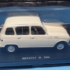 Coches a escala: RENAULT 4L 1964 - ESCALA 1: 24 - EDITORIAL SALVAT. Lote 261174255