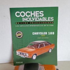 Coches a escala: CHRYSLER 180 SALVAT 1/24. Lote 261857875