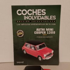 Coches a escala: AUTHI MINI COOPER 1300 SALVAT 1/24. Lote 261861945