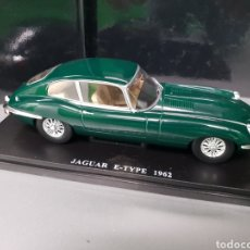 Coches a escala: JAGUAR E-TYPE 1962. Lote 263042635