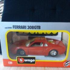 Coches a escala: FERRARI 308 GTB BBURAGO 1/24. Lote 265340459