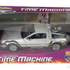 Coches a escala: RÉPLICA COCHE DELOREAN TIME MACHINE 1/24 - BACK TO THE FUTURE - WELLY. Lote 265971963