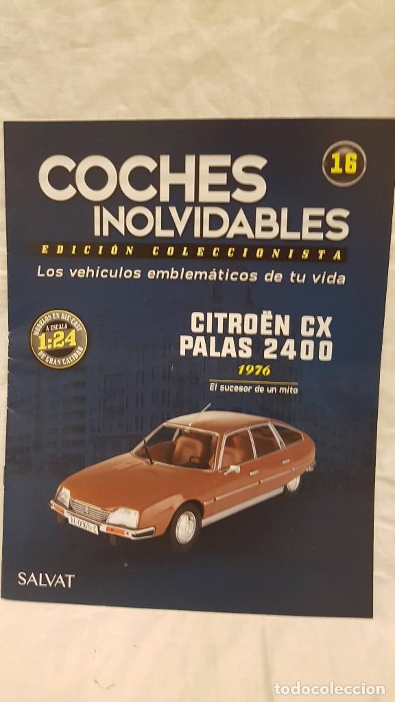 Coches a escala: CITROEN CX PALAS 2400 AÑO 1976 Y LIBRO COCHES INOLVIDABLES - Foto 6 - 266553273