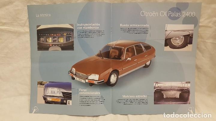Coches a escala: CITROEN CX PALAS 2400 AÑO 1976 Y LIBRO COCHES INOLVIDABLES - Foto 7 - 266553273