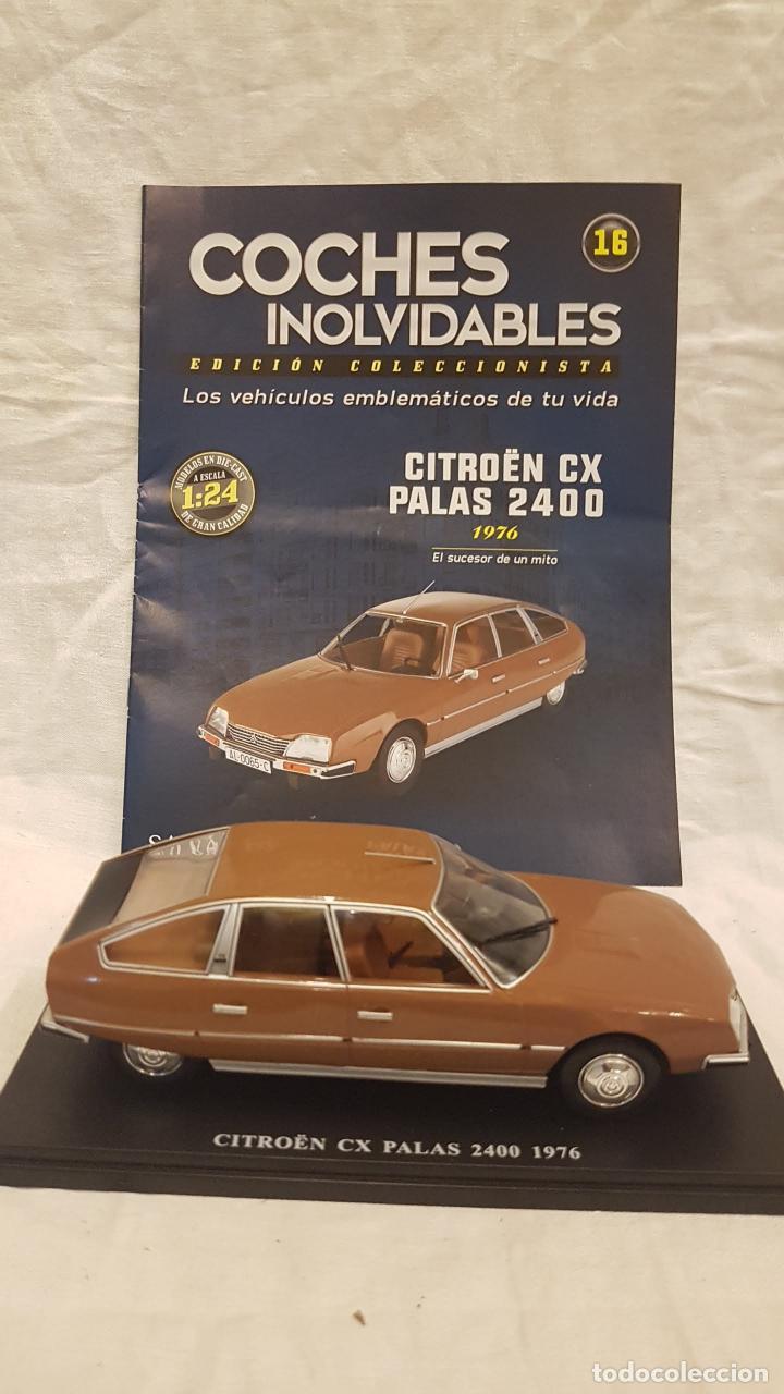 CITROEN CX PALAS 2400 AÑO 1976 Y LIBRO COCHES INOLVIDABLES (Juguetes - Coches a Escala 1:24)