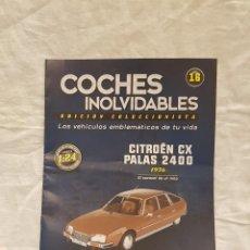 Coches a escala: CITROEN CX PALAS 2400 AÑO 1976 Y LIBRO COCHES INOLVIDABLES. Lote 266553273
