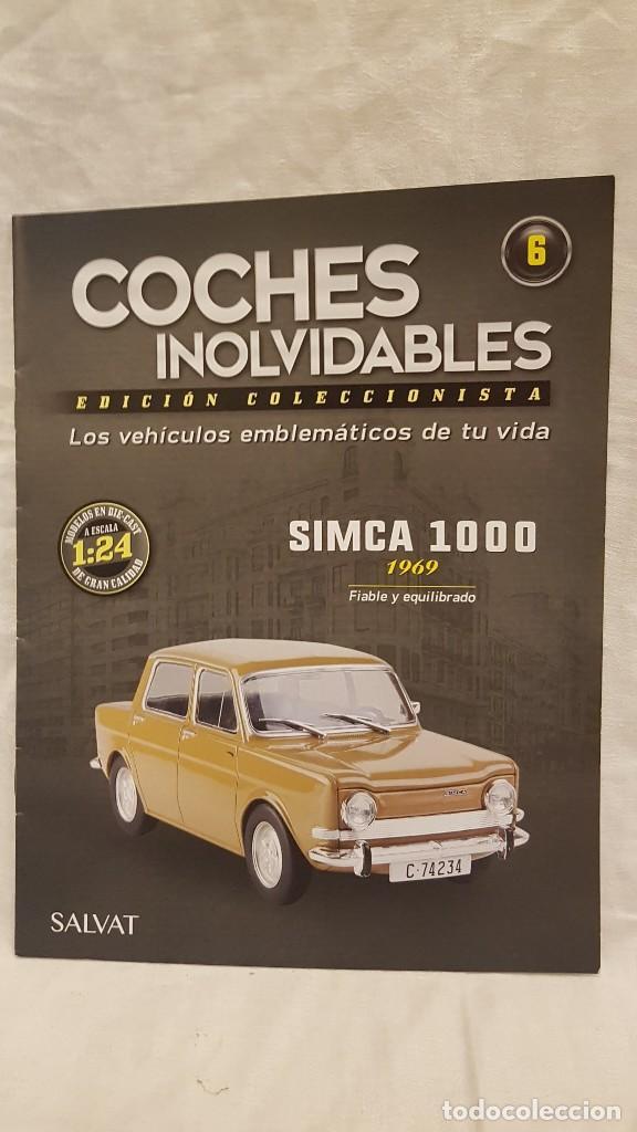 Coches a escala: SIMCA 1000 AÑO1969 Y LIBRO COCHES INOLVIDABLES - Foto 6 - 266556748