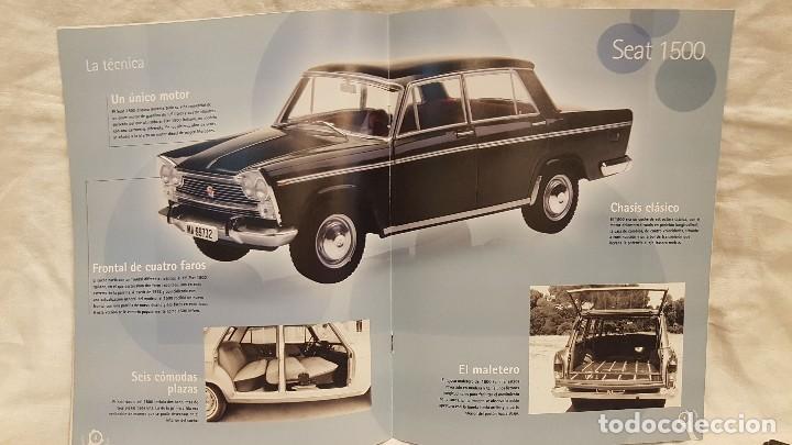 Coches a escala: SEAT 1500 AÑO 1971 Y LIBRO COCHES INOLVIDABLES SALVAT - Foto 7 - 266558323