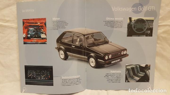 Coches a escala: VOLKSWAGEN GOLF GTI AÑO 1981 Y LIBRO COCHES INOLVIDABLES SALVAT - Foto 7 - 266560243