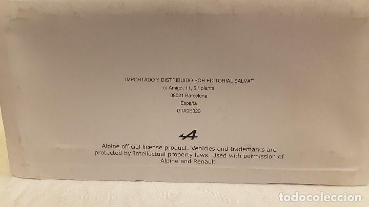 Coches a escala: ALPINE RENAULT A 110 1300 AÑO 1971 Y LIBRO EDICION DEL COLECCIONISTA SALVAT - Foto 4 - 266563528