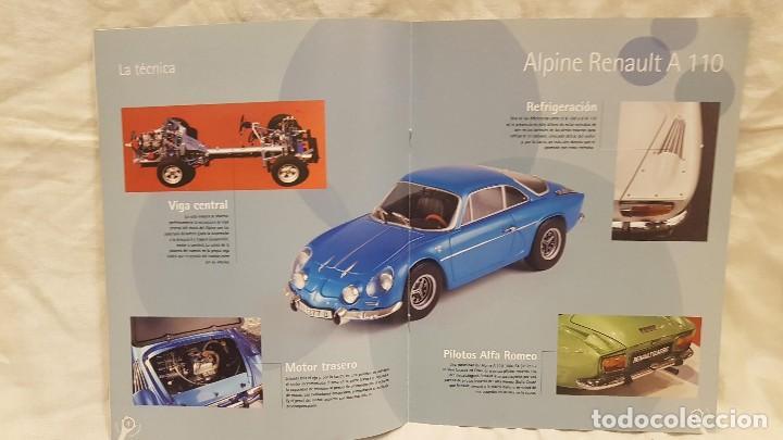 Coches a escala: ALPINE RENAULT A 110 1300 AÑO 1971 Y LIBRO EDICION DEL COLECCIONISTA SALVAT - Foto 7 - 266563528