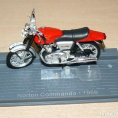 Voitures à l'échelle: MOTO NORTON COMMANDO AÑO 1969 BIKE MOTORBIKE MOTOCICLETA 1:24 DIE CAST 1/24 IXO ALTAYA ALFREEDOM. Lote 267041014