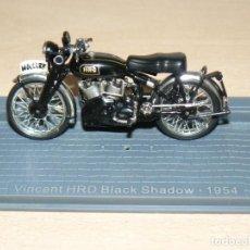 Voitures à l'échelle: MOTO VINCENT HRD BLACK SHADOW 54 BIKE MOTORBIKE MOTOCICLETA 1:24 DIE CAST 1/24 IXO ALTAYA ALFREEDOM. Lote 267044234