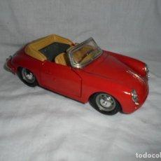 Coches a escala: PORSCHE 356 B(1961) ESCALA 1/24 BURAGO.MADE IN ITALY. Lote 280320303