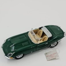 Coches a escala: FRANKLIN MINT - 1:24 - JAGUAR E-TYPE SERIES I ROADSTER - 1961. Lote 287818138
