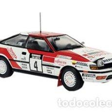 Coches a escala: COCHE RALLY TOYOTA CELICA GT-4 / WRC 1990 - CARLOS SAINZ / LUIS MOYA (ESCALA 1:24) IXO RALLYE N5. Lote 222006163