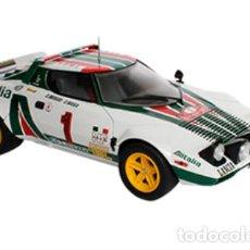 Coches a escala: COCHE RALLY LANCIA STRATOS - 1977 (ESCALA 1:24) WRC FIA WORLD, COMPETICIÓN, IXO RALLYE N7. Lote 224041858