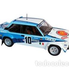 Coches a escala: COCHE RALLY FIAT 131 ABARTH / MONTE-CARLO 1980 / ROHRL - GEISTDORFER (ESC. 1:24) WRC, IXO RALLYE N9. Lote 230179065