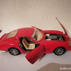 Coches a escala: COCHE FERRARI 275 GTB 1966 - COCHES - AUTO - ESCALA 1/24 - ROJO. Lote 295384013