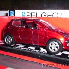Coches a escala: PEUGEOT 206 GTI DE NEW RAY ESC. 1,32 DE METAL. Lote 37921821