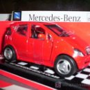 Coches a escala: MERCEDES-BENZ A CLASS AÑO 1997 DE NEW RAY ESC. 1,32 DE METAL. Lote 27512308