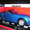 Coches a escala: BMW Z4 CABRIO DE NEW RAY ESC. 1,32 DE METAL ABRE PUERTAS ESPECTACULAR. Lote 25426025