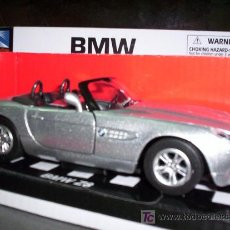 Coches a escala: BMW Z8 CABRIO DE NEW RAY ESC. 1,32 DE METAL ABRE PUERTAS ESPECTACULAR. Lote 27497127