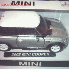 Coches a escala: COCHE ESCALA 1:32 MINI COOPER (2002) A ESTRENAR. Lote 11486757