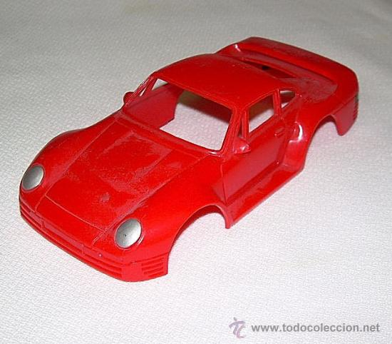 CARROCERIA PORSCHE 929 JUGUETE 1:32 APROX IDEAL SCRATCH & BUILDING (Juguetes - Coches a Escala 1:32)