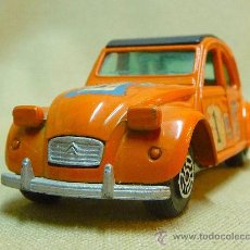 Coches a escala: AUTOMOVIL, CITROEN 2 CV, RALLY, ESCALA 1/32, GUISVAL, ESPAÑA. Lote 24526968