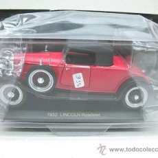 Coches a escala: COCHE DE EPOCA - LINCOLN ROADSTER - AÑO 1932 - ESCALA 1:32 - . Lote 28075526