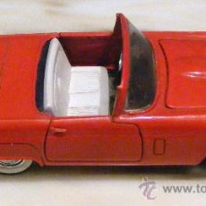 Coches a escala: COCHE METALICO Y PLASTICO, FORD THUNDERBIRD1957 ESCALA 1/32 GUISVAL MADE IN SPAIN. Lote 29278449