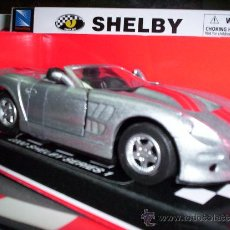 Coches a escala: 2000 SHELBY SERIES 1 ESC.1,32 DE NEW RAY ABREPUERTAS ¡BONITO!. Lote 30440656