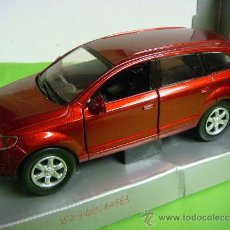 Coches a escala: COCHE AUDI Q-7 ESCALA 1'32 COLOR ROJO ... Lote 34388706