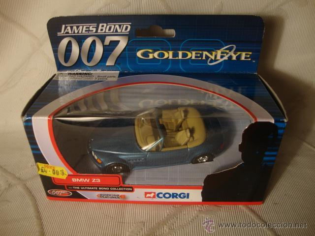 Coche Su Jugueteria Caja Bond En Coleccion Bmw Sin Z3 Juguete James De Original Metal Uso Almacen BoWQrxCeEd
