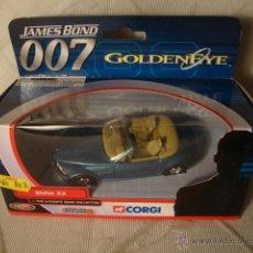 Coches a escala: JUGUETE COCHE ORIGINAL COLECCION JAMES BOND BMW Z3 METAL EN SU CAJA SIN USO DE ALMACEN JUGUETERIA. Lote 41771811