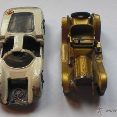 Auto in scala: MATCHBOX MODELS OF YESTERYEAR CADILLAC 913 Y PORCHE CARRERA MERCURY. Lote 43932462