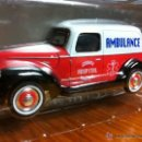 Coches a escala: GENERAL COUNTY HOSPITAL FORD AMBULANCE 1940.. Lote 47980552