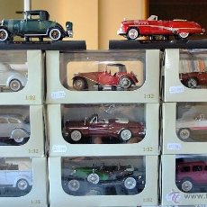 Coches a escala: 11 COCHES ESCALA 1/32 SIGNATURE MODELS. Lote 50978094