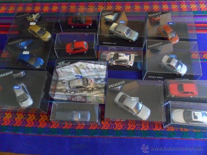 LOTE 15 PEUGEOT EN CAJA 206 WRC 307 604 106 306 CABRIOLET 406 COUPÉ BREAK 607 205. INENCONTRABLES!!! (Juguetes - Coches a Escala 1:32)