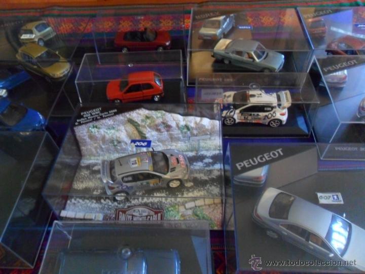 Coches a escala: LOTE 15 PEUGEOT EN CAJA 206 WRC 307 604 106 306 CABRIOLET 406 COUPÉ BREAK 607 205. INENCONTRABLES!!! - Foto 3 - 51355503