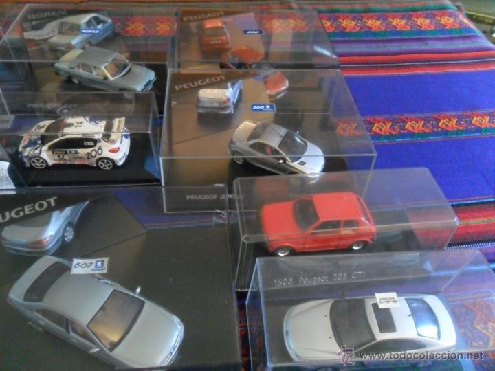 Coches a escala: LOTE 15 PEUGEOT EN CAJA 206 WRC 307 604 106 306 CABRIOLET 406 COUPÉ BREAK 607 205. INENCONTRABLES!!! - Foto 4 - 51355503