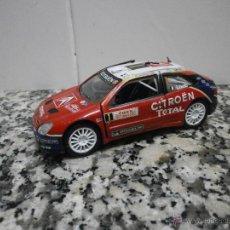 Coches a escala: COCHE CITROEN SARA WRC. 1/32 MARCA SAICO RALLYE MONTE CARLO 2005. Lote 51543094