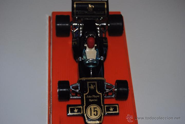 Coches a escala: LOTUS JOHN PLAYER SPECIAL F1 GRAN PRIX MEBETOYS DE MATEL - Foto 2 - 52450173