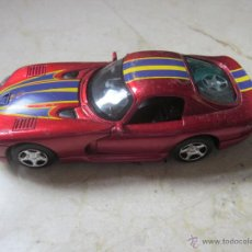 Coches a escala: COCHE DODGE VIPER GTS - DAIMLER CHRYSLER CORPORATION 2000. Lote 54549517