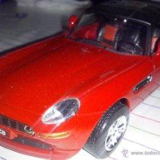 Coches a escala: NEWRAY NEW RAY ~ COCHE BMW Z8 ROJO TECHO DURO CON 2 CHASIS : PULL-BACK & RADIO CONTROL ~ ESCALA 1/32. Lote 54943240