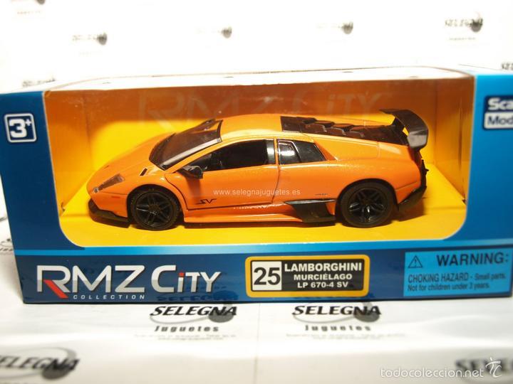 Lamborghini Murcielago Lp 670 4 Sv Naranja Esca Buy Model Cars At