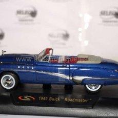 Coches a escala: BUICK ROADMASTER 1949 1/32 SIGNATURE MODELS COCHE METAL MINIATURA. Lote 56941158